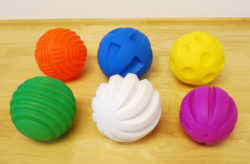 TickiT Large Tactile Balls (Pack of 6)