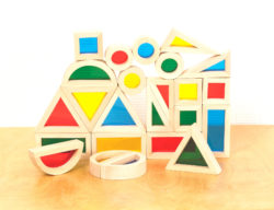 Sensory Rainbow Blocks (24 Bricks)