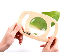 TickiT Sensory Easy Hold Magnifier in a Frame (Magnifying Lens)