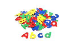 VIGA Wooden Magnetic Alphabet (Pack of 52 Uppercase + Lowercase Letters)