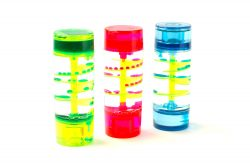 Spiral Fluid Liquid Tube Sensory Set (Pack of 3)