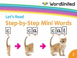 Let's Read - Step-by-Step Mini Words