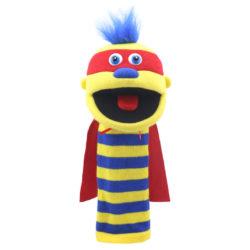 The Puppet Company - Superhero Zap Sockette (Hand Puppet)
