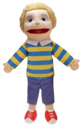 The Puppet Company - Medium Boy with Light Skin Tone (Hand Puppet)