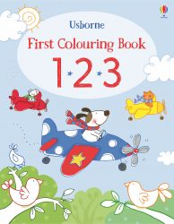 123 First Colouring Book