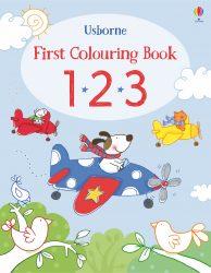 123 - Usborne First Colouring Book