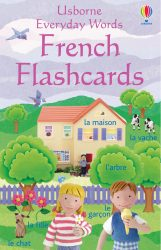Everyday Words Flashcards: French