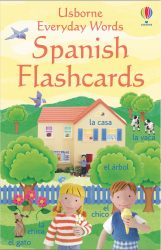 Usborne Everyday Words Flashcards: Spanish