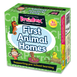 BrainBox First Animal Homes (Memory Game)