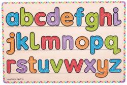 Bigjigs Learn To Write Alphabet Sensory Board