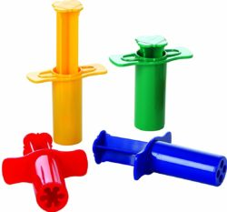 Gowi Toys Modelling Shot Dough and Clay Syringes (Set of 4)