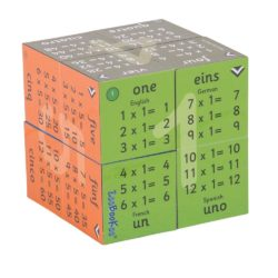 ZooBooKoo Multiplication - 1 to 12 Times Tables (3D Mathematics Cube Book)