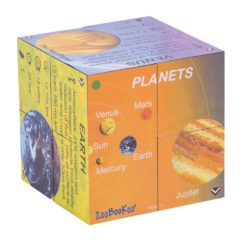 ZooBooKoo Planets Cube Book: Solar System Statistics (3D Scientific Cube Book)