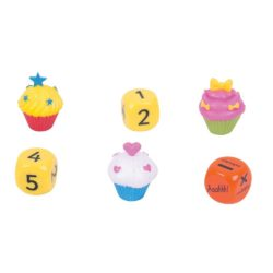 ZooBooKoo Cupcake Dice Level 2: Addition, Subtraction & Multiplication (Mental Mathematics Game)
