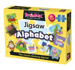 BrainBox Alphabet Jigsaw (Puzzle & Game)