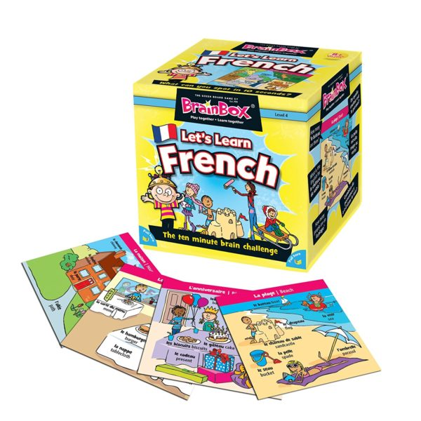 BrainBox Let's Learn French (Game)