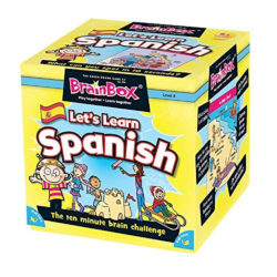 BrainBox Let's Learn Spanish (Memory Game)