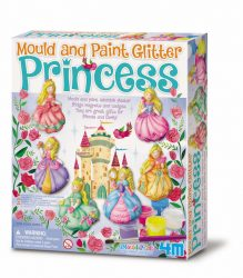 4M Mould & Paint - Glitter Princess