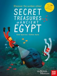 British Museum: Secret Treasures of Ancient Egypt (with 120 Stickers + 3D Sarcophagus)
