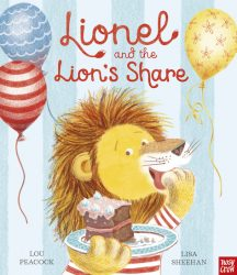 Lionel and the Lion's Share (Nosy Crow Board Book)