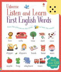 Usborne Listen and Learn - First English Words