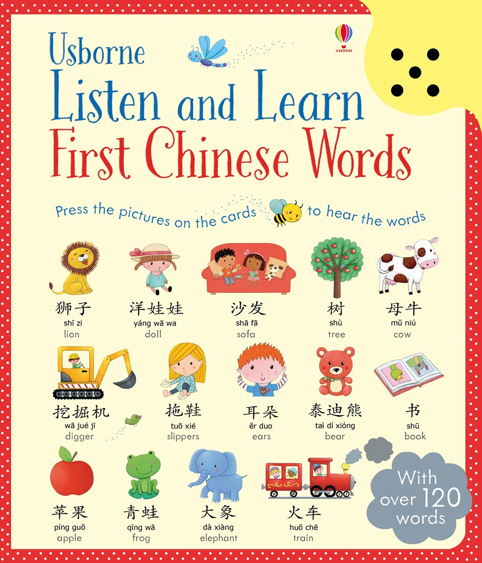 Usborne Listen and Learn - First Chinese Words - WordUnited