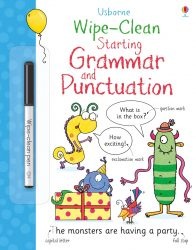 Usborne Wipe-Clean Starting Grammar and Punctuation