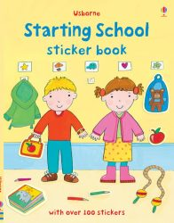 Starting School - Usborne Sticker Book