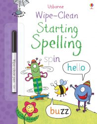 Usborne Wipe-Clean Starting Spelling
