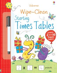 Usborne Wipe-Clean Starting Times Tables