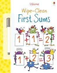 Usborne Wipe-Clean First Sums