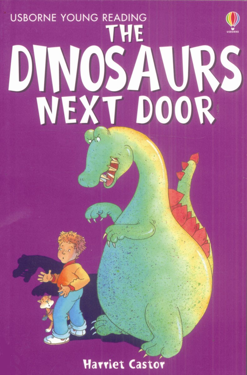 sc 1 st  WordUnited & The Dinosaurs Next Door (Usborne Young Reading 1) - WordUnited