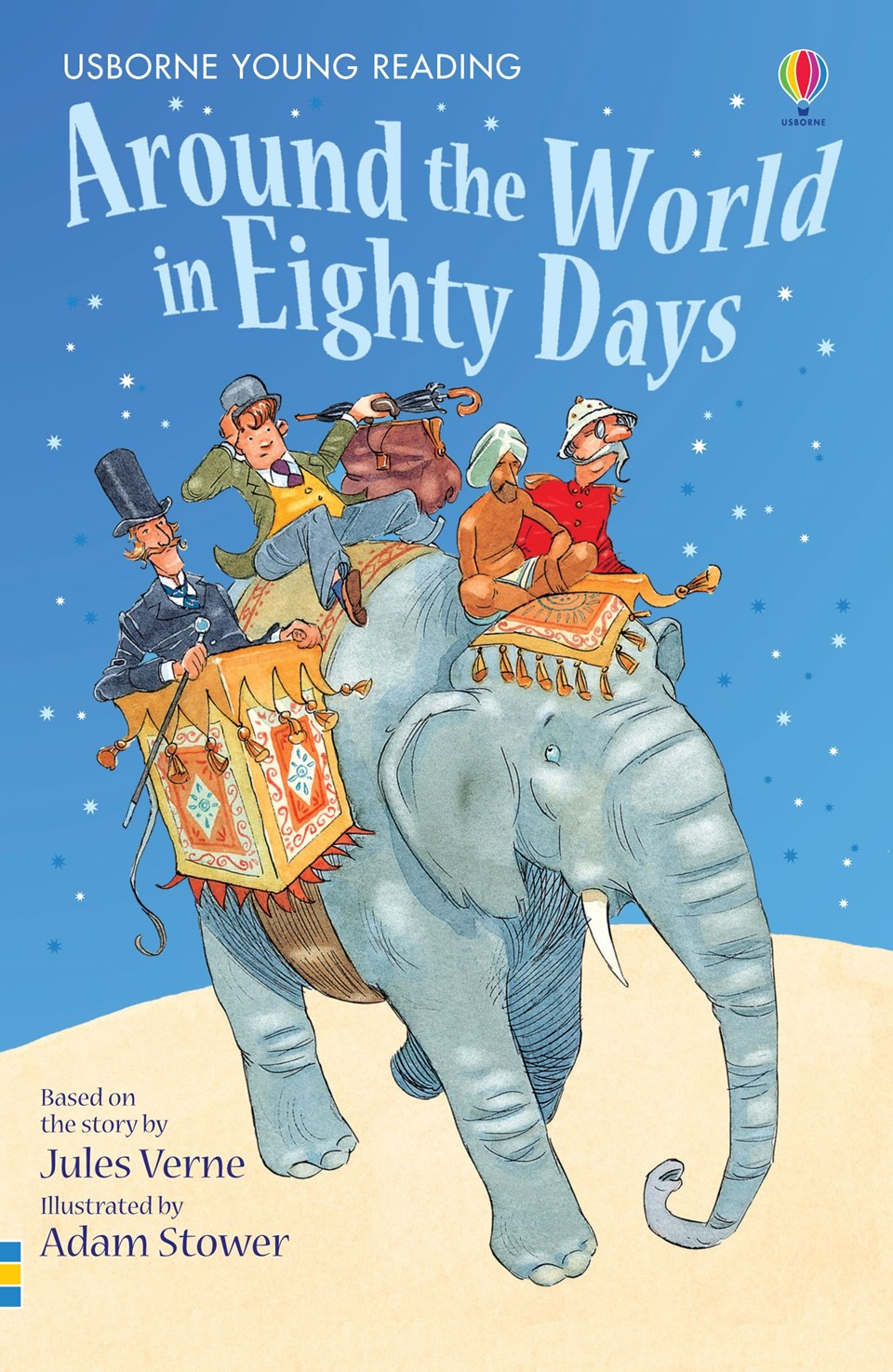 around the world in eighty days  usborne young reading 2