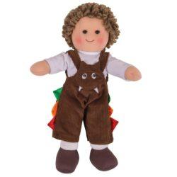 Bigjigs Jack Soft Plush Doll