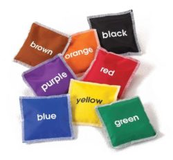 Colour Name Bean Bags (Pack of 8)