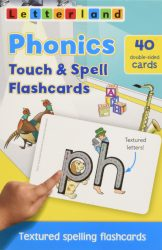 Phonics Touch & Spell Textured Flashcards (Letterland)