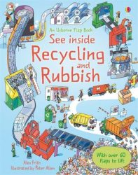 See Inside Recycling & Rubbish (Usborne Lift-the-Flap)