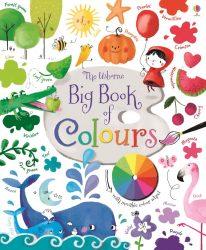 Usborne Big Book of Colours - Big Picture Book + Acetate Page (Usborne Board Book)