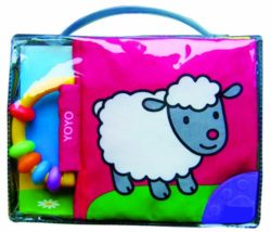 Soft Book with Rattle and Teether - Sheep