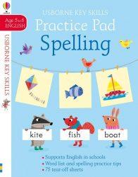 Spelling Practice Pad 5-6 (Usborne Key Skills)