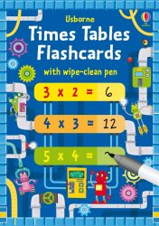 Times Tables Multiplication Flash Cards (Usborne)