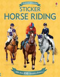 Horse Riding (Usborne Stickers Books)