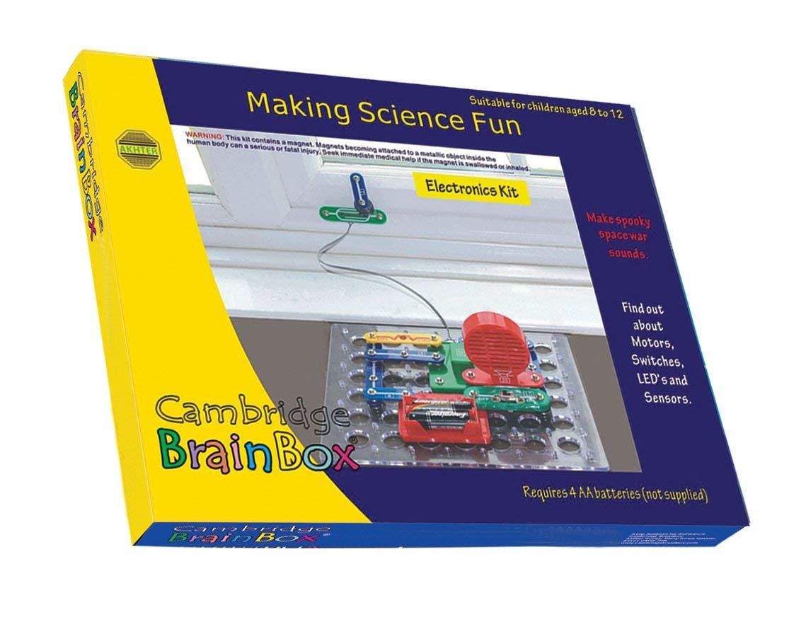 Massive  BrainBox 1200 Electronic Kit  KIT SNAP CIRCUITS Science Kit  Stage3