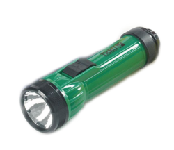TickiT Handy LED Torch (Handheld Flashlight - Green)
