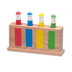 Galt Toys Classic Wooden Pop-Up Toy