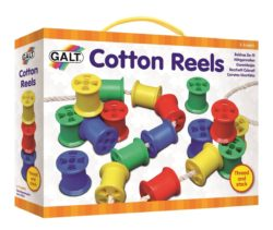Galt Toys Threading Cotton Reels (Lacing Set)