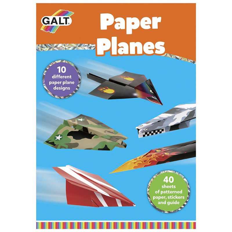galt toys paper planes crafts set wordunited