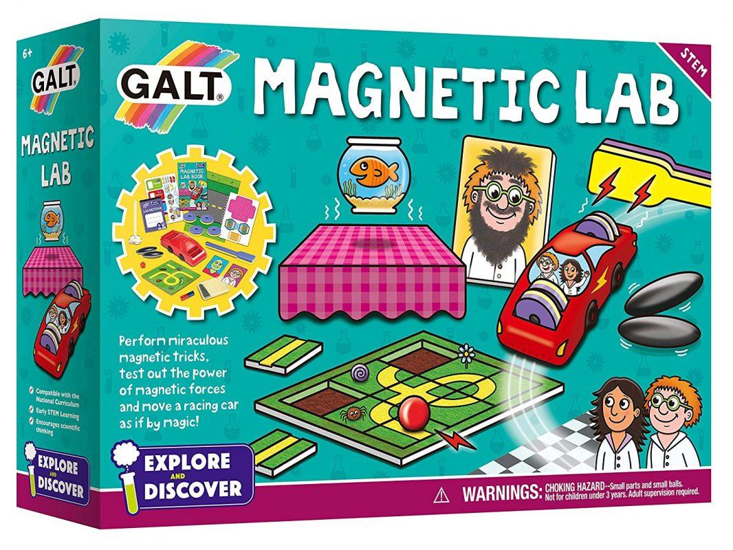 Galt Toys Magnetic Lab (Physics Science STEM Kit for Children)