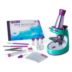 Learning Resources Nancy B's Science Club Scientific Microscope and Activity Journal Microscope