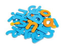 Learning Resources Tactile Alphabet (26 Lowercase Letters)